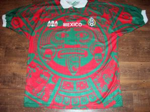 Global Classic Football Shirts | 1997 Mexico Vintage Retro Old Soccer Jersey